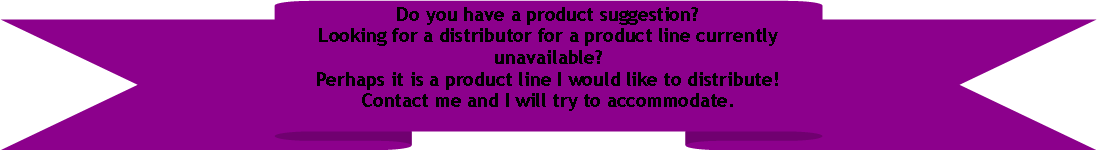 Up Ribbon: Do you have a product suggestion?